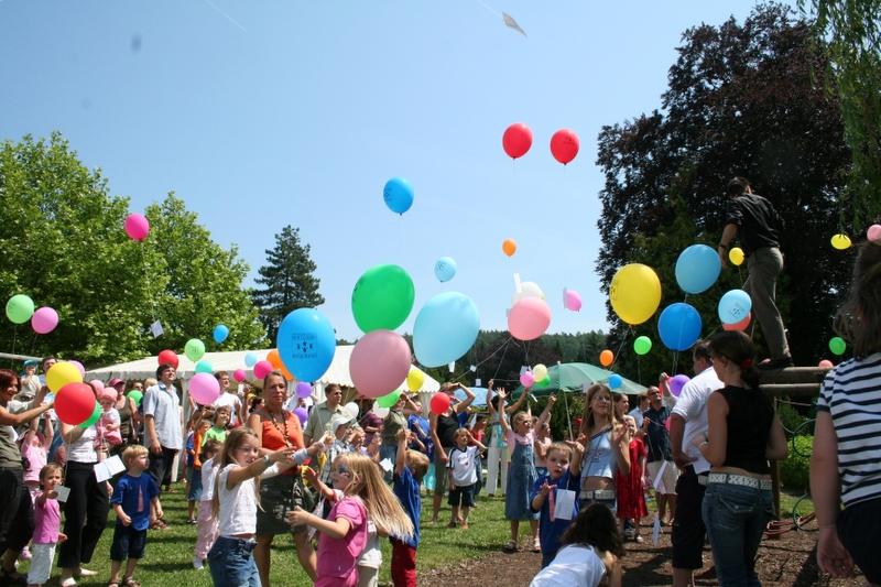 Ballonwettbewerb 25-Jahr-Feier